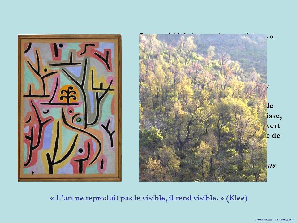Le procédé de la « couleur en dehors » exalte le linéarisme, renforce l autonomie de signifiants pseudo- pictographiques.