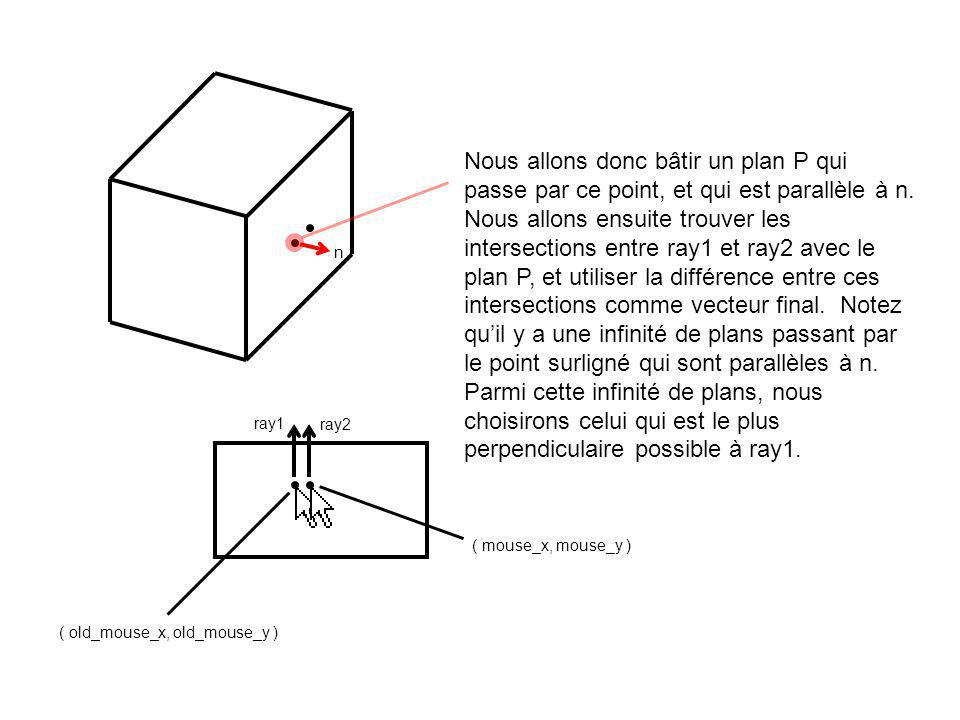 ( old_mouse_x, old_mouse_y ) ( mouse_x, mouse_y ) ray1 n ray2 intersection1