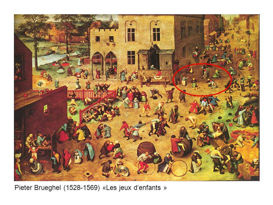 Pieter Brueghel (1528-1569) «Les jeux d'enfants »