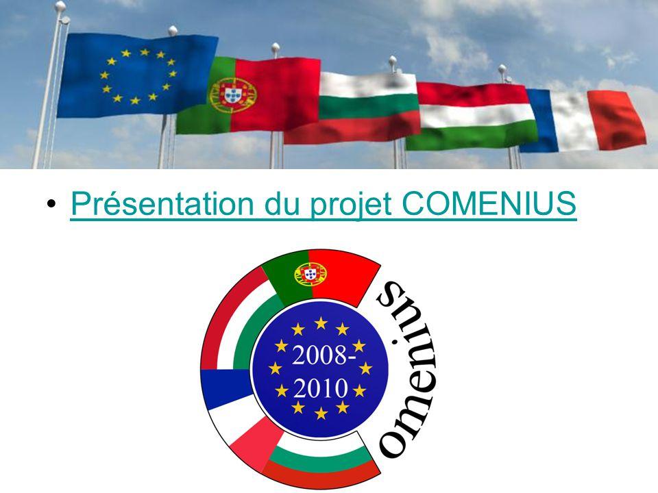 Présentation du projet COMENIUS