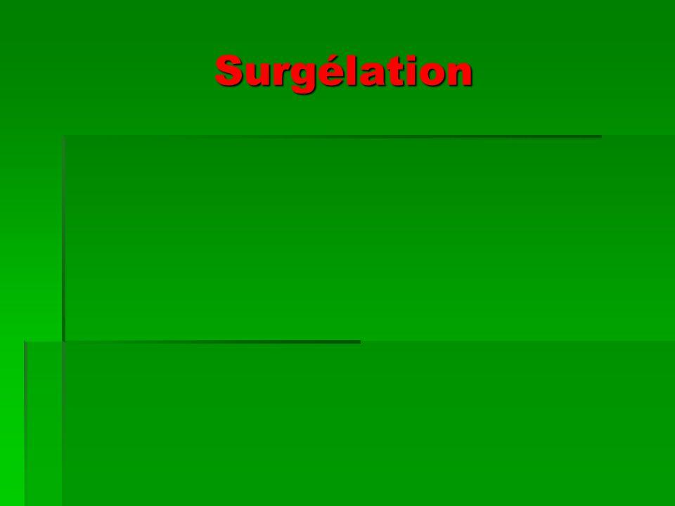 Surgélation