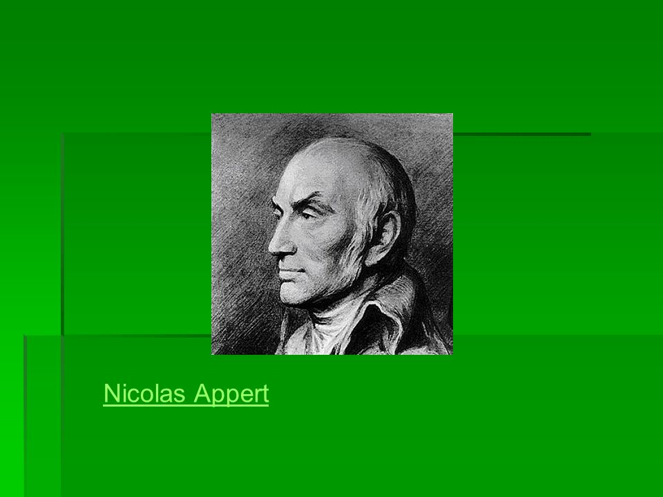 Nicolas Appert
