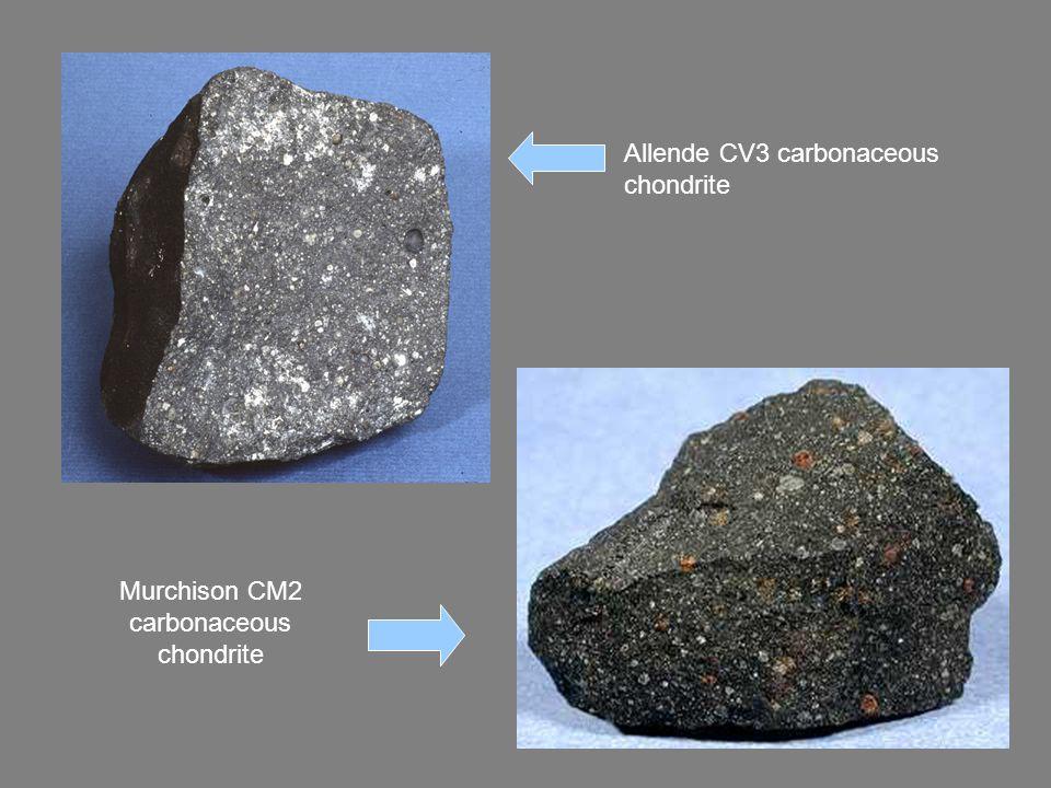Allende CV3 carbonaceous chondrite Murchison CM2 carbonaceous chondrite