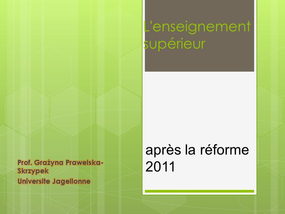 après la réforme 2011
