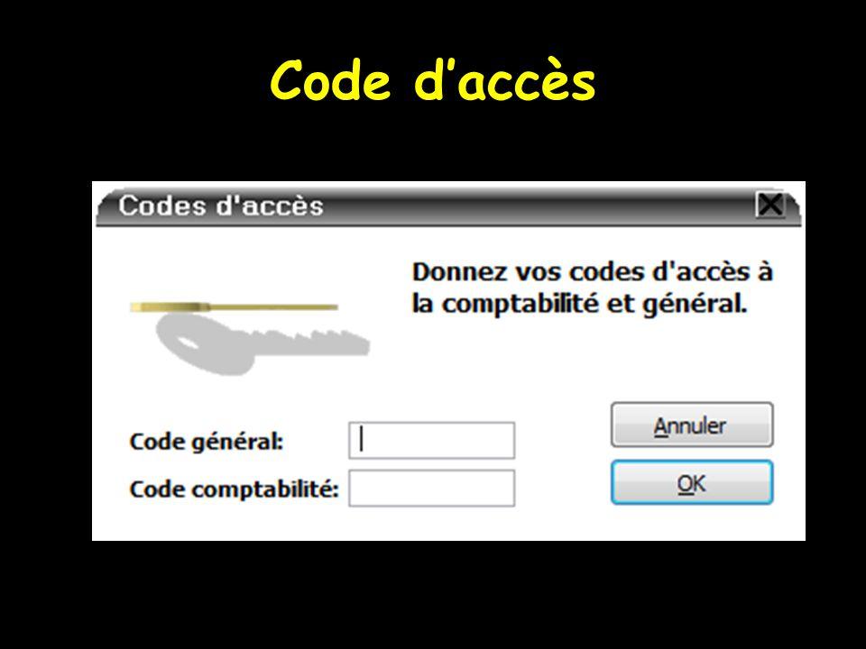Code d'accès