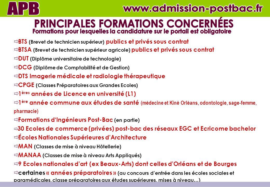 S'INFORMER GERER SES CANDIDATURES à partir du 1 décembre 2011 à partir du 20 janvier 2012