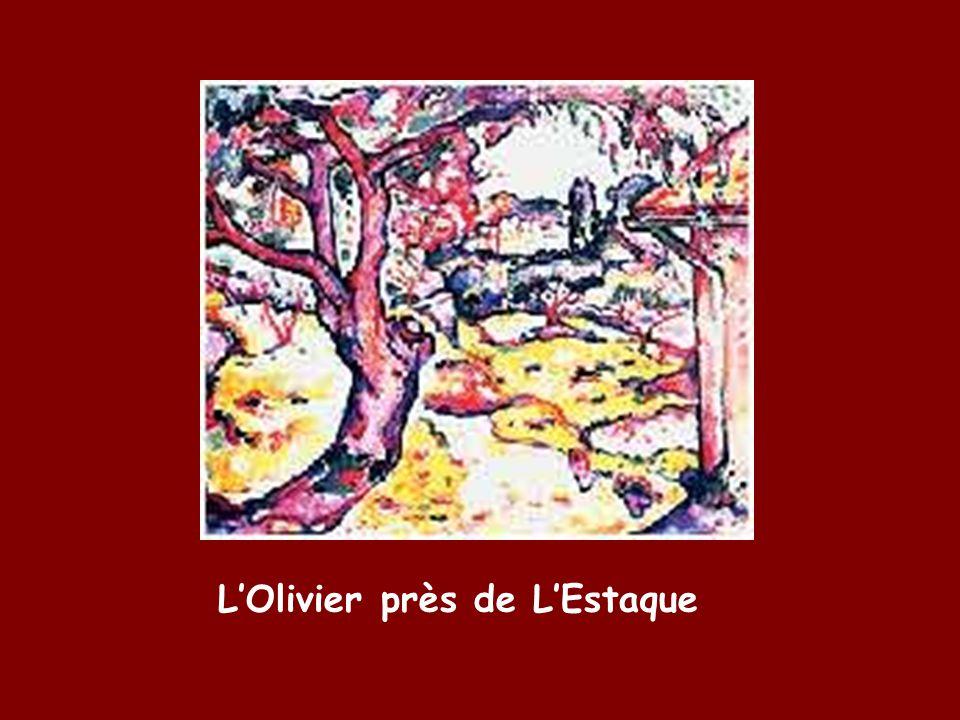 L'Olivier près de L'Estaque