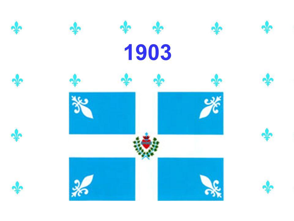 Ce drapeau est l'ancêtre le plus direct du fleurdelisé
