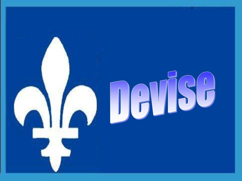 1939 Le régime français: (fleurs de lis or sur fond bleu), Le régime britannique: (léopard or sur fond rouge) Période canadienne: (rameau de feuilles