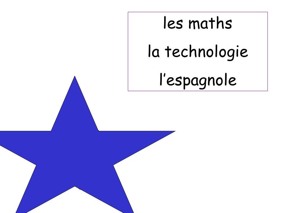 les maths la technologie l'espagnole