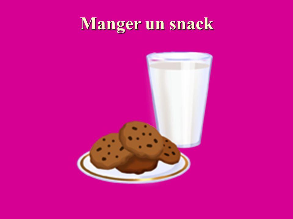 Manger un snack