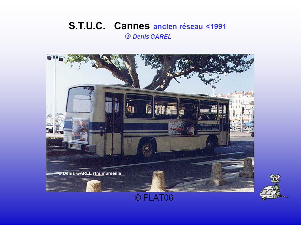 © FLAT06 S.T.U.C. Cannes ancien réseau <1991 © Denis GAREL