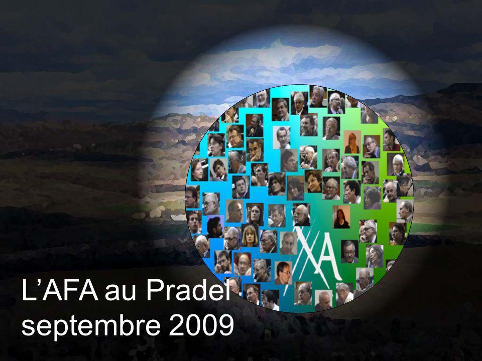 L'AFA au Pradel septembre 2009