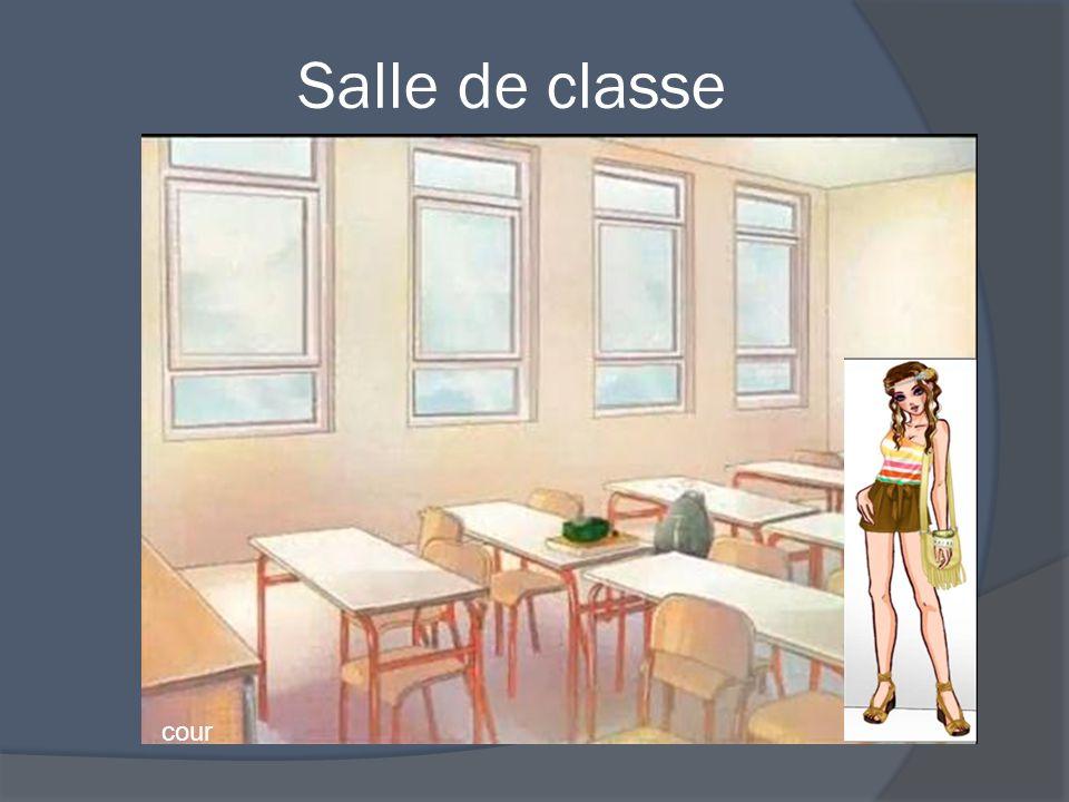 Salle de classe cour
