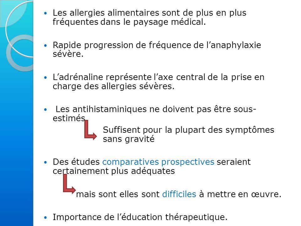 Les allergies alimentaires sont de plus en plus fréquentes dans le paysage médical.