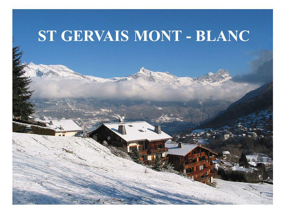 Situation Saint-Gervais-les-Bains est située dans le département de la Haute-Savoie Ses 5 742 habitants sont appelés les Saint-Gervelins (ou Saint-Gervolains).