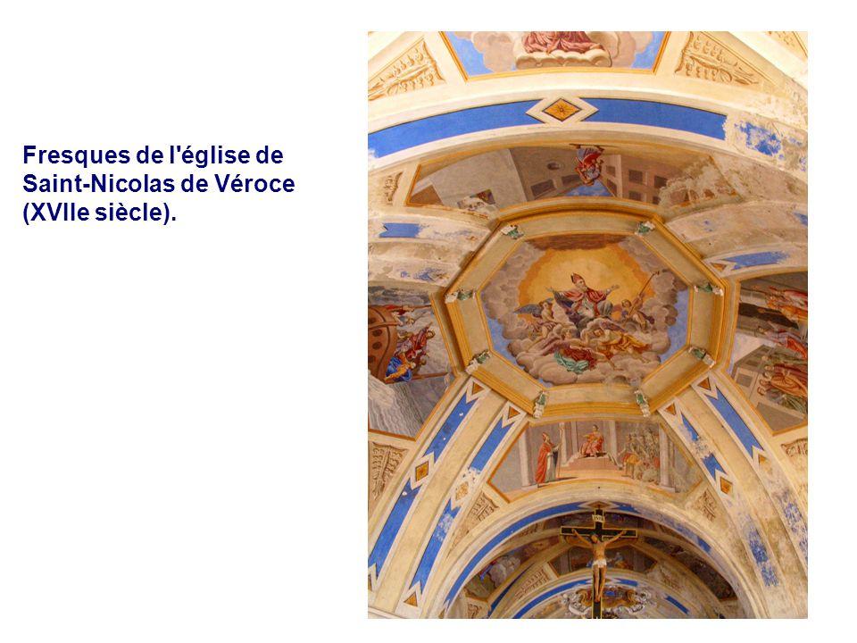 Les Thermes Fresques de l'église de Saint-Nicolas de Véroce (XVIIe siècle).