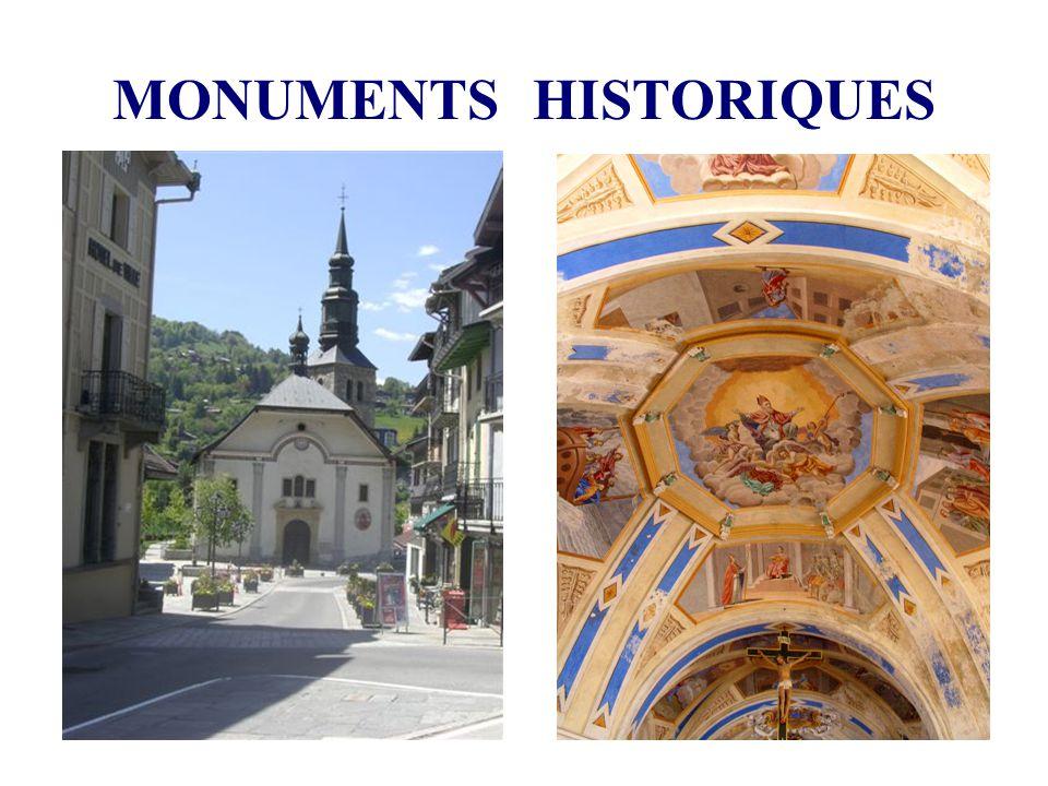 MONUMENTS HISTORIQUES EGLISES L église de Saint-Gervais est une église de type halle sans transept construite en 1698.