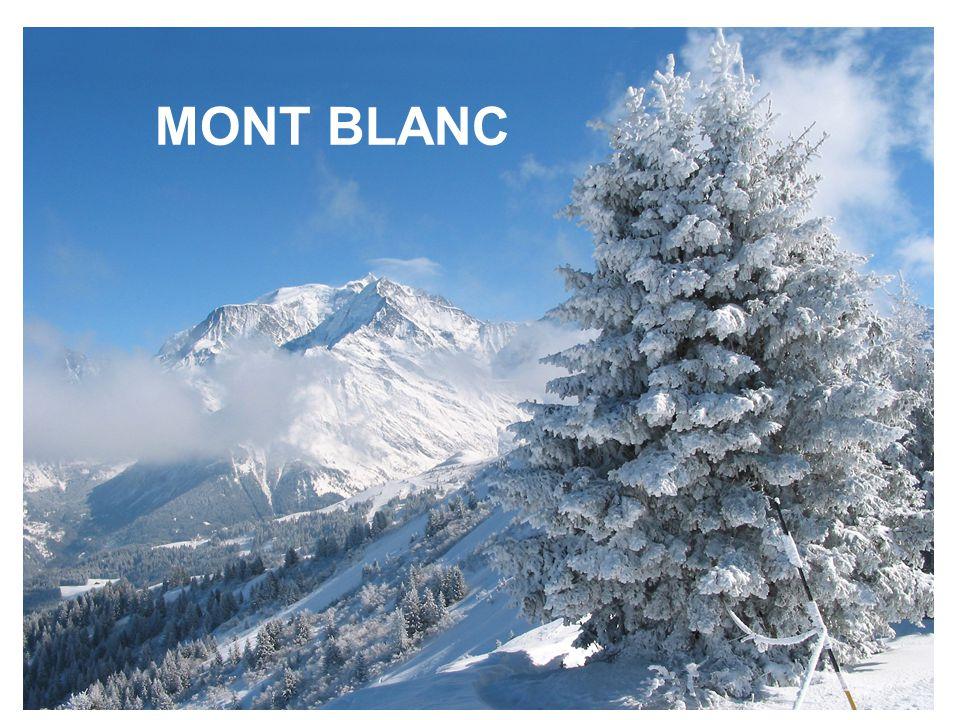 Le Mont-Blanc En 1808 la Saint-Gervolaine, Marie Paradis, est la première femme à accéder au Mont-Blanc, via Chamonix.