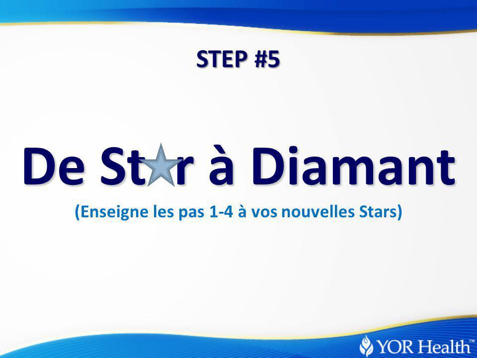 De St r à Diamant (Enseigne les pas 1-4 à vos nouvelles Stars) STEP #5
