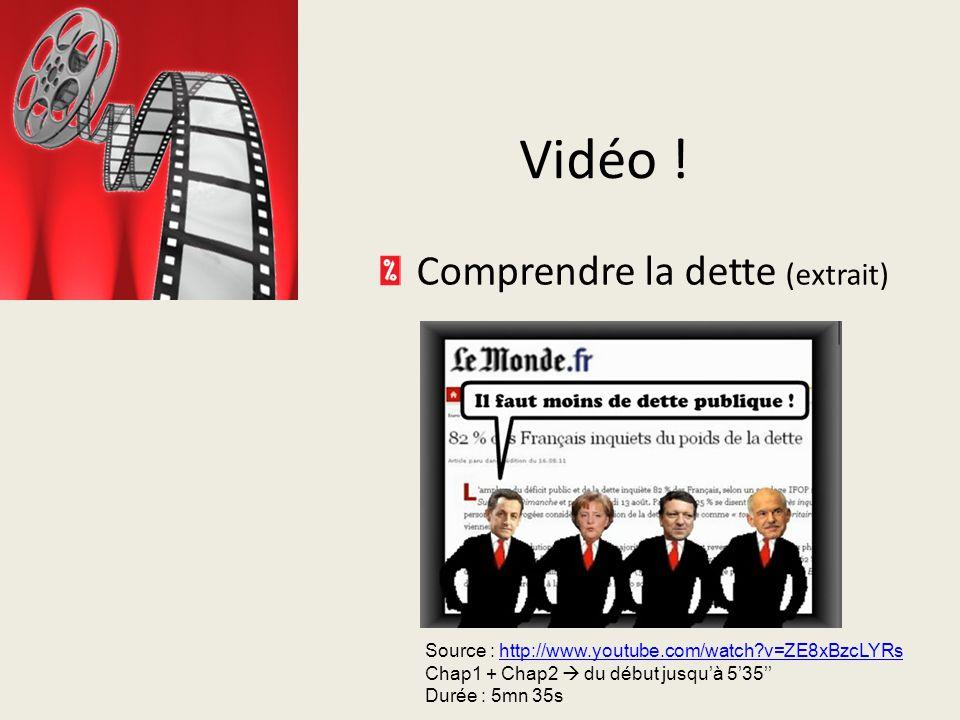 Vidéo .Comprendre la dette (extrait) Vidéo .