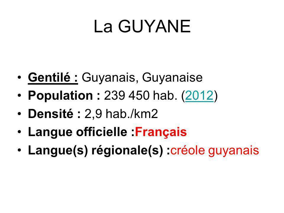 Les Musiques traditionnelles de Guyane : - la musique amérindienne - la musique du fleuve ou bushikondesama - la musique créole traditionnelle (tambour) Le zouk