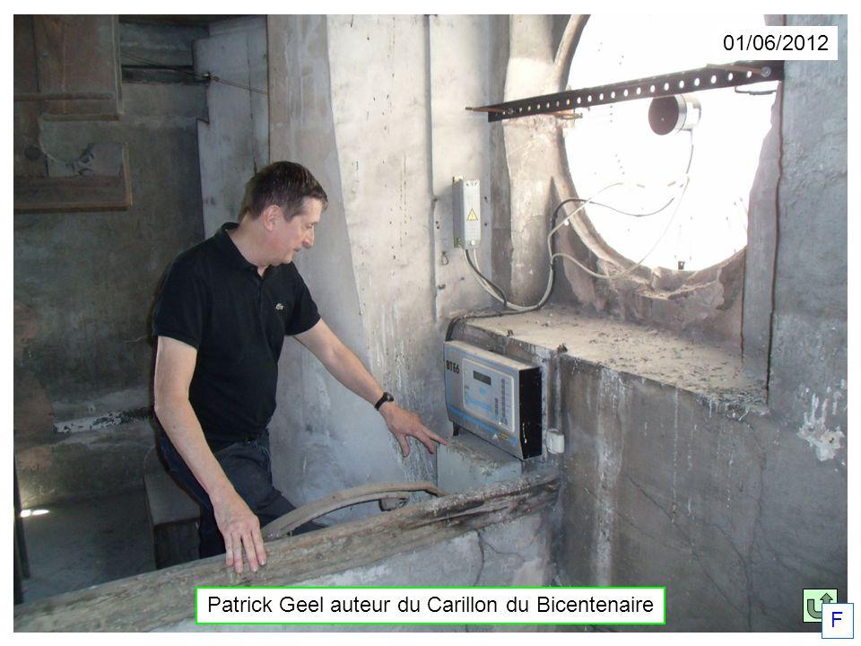 01/06/2012 Patrick Geel auteur du Carillon du Bicentenaire F