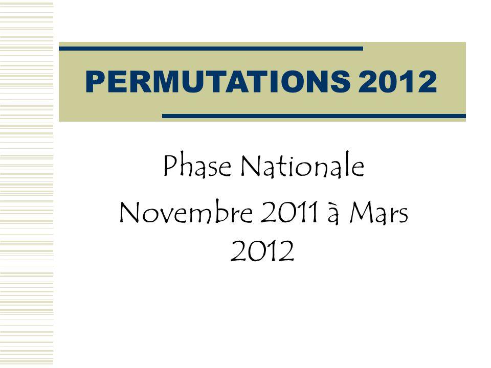 Chiffres 2011  DEMANDES 17104 (2010:16 904 - 2009: 16 623) enseignants titulaires ont participé au mouvement interdépartemental.