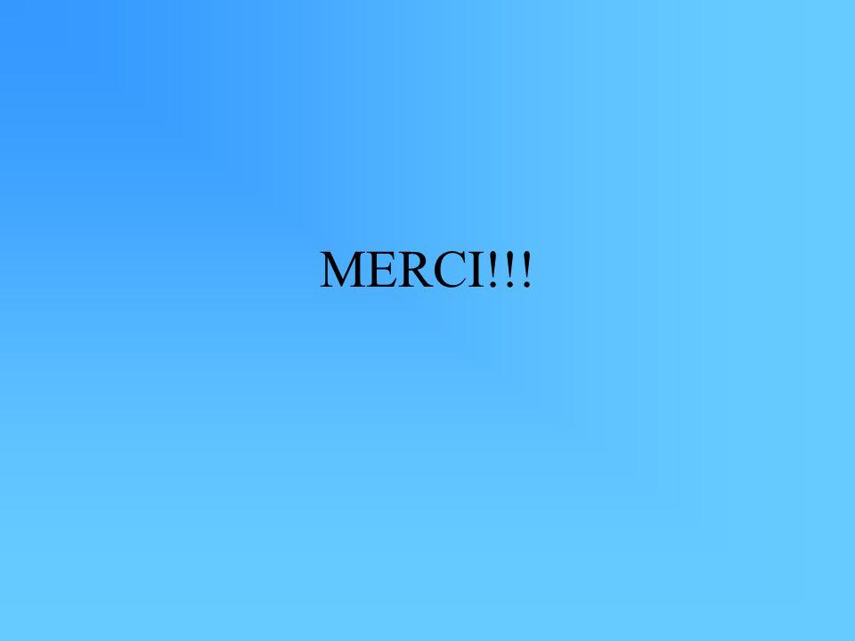 MERCI!!!