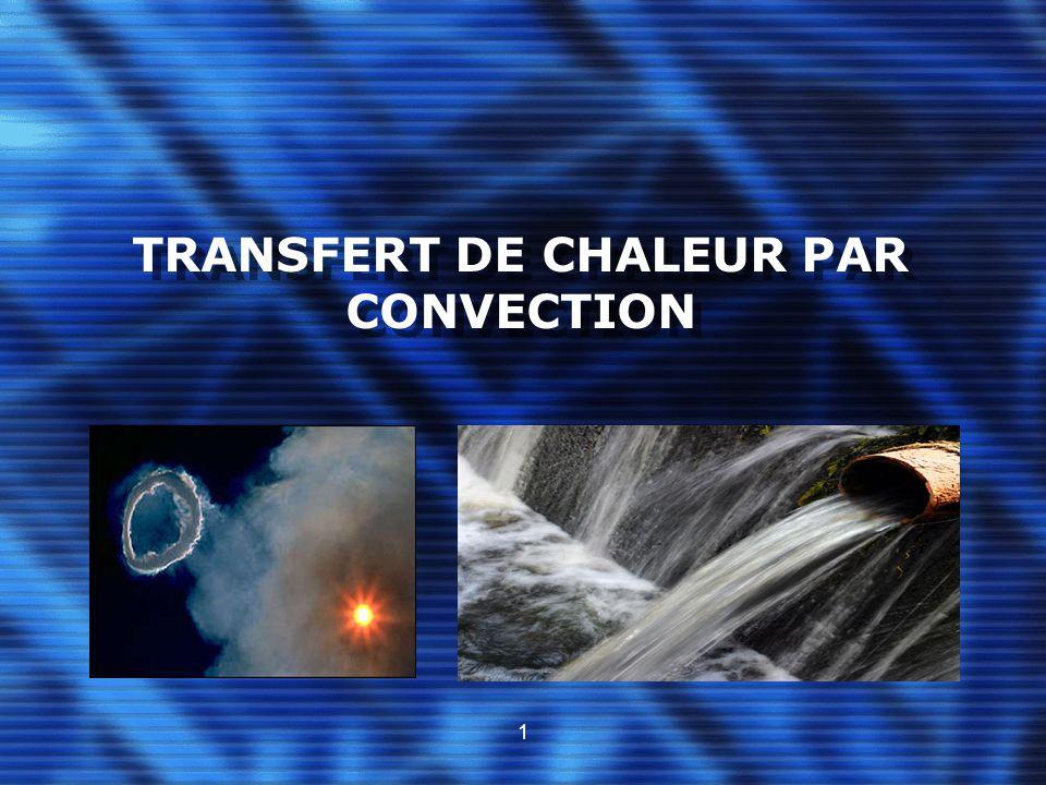 TRANSFERT DE CHALEUR PAR CONVECTION 1