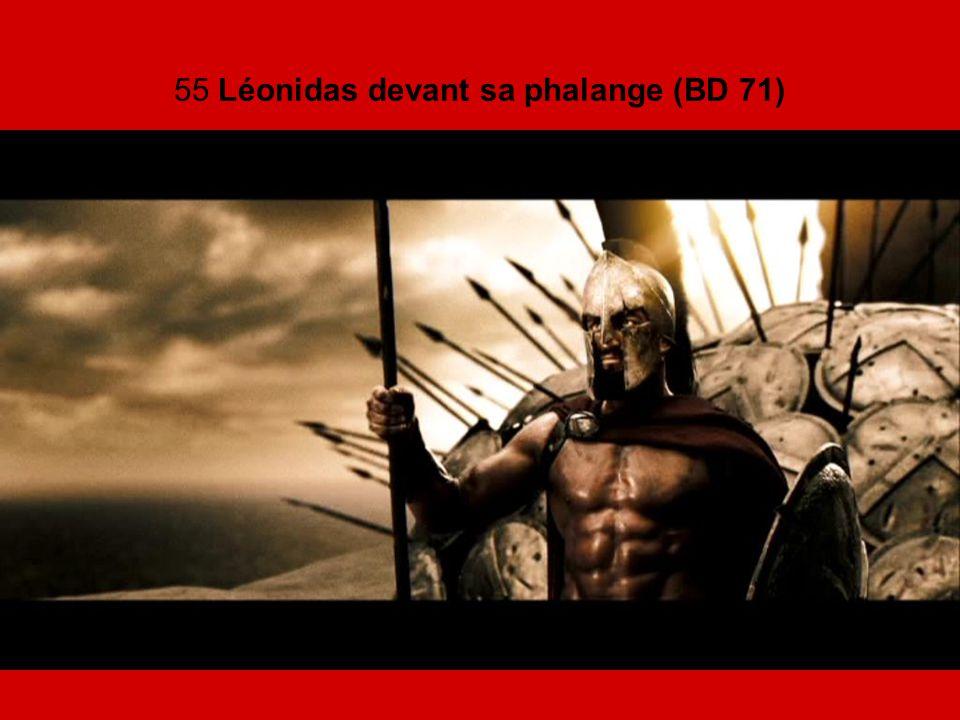 55 Léonidas devant sa phalange (BD 71)