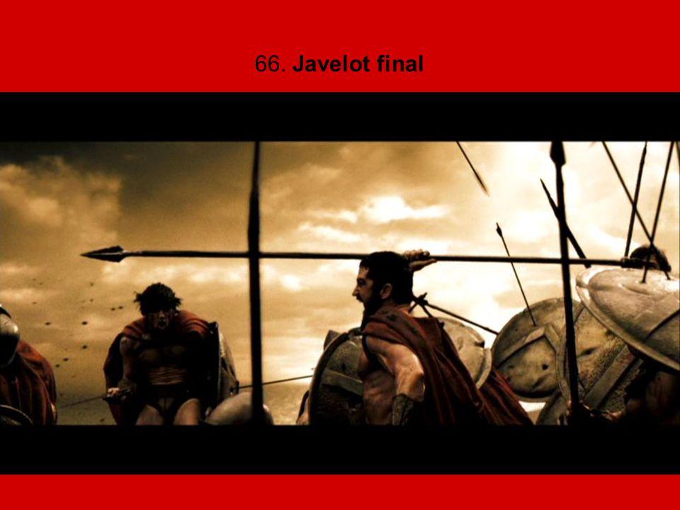 66. Javelot final