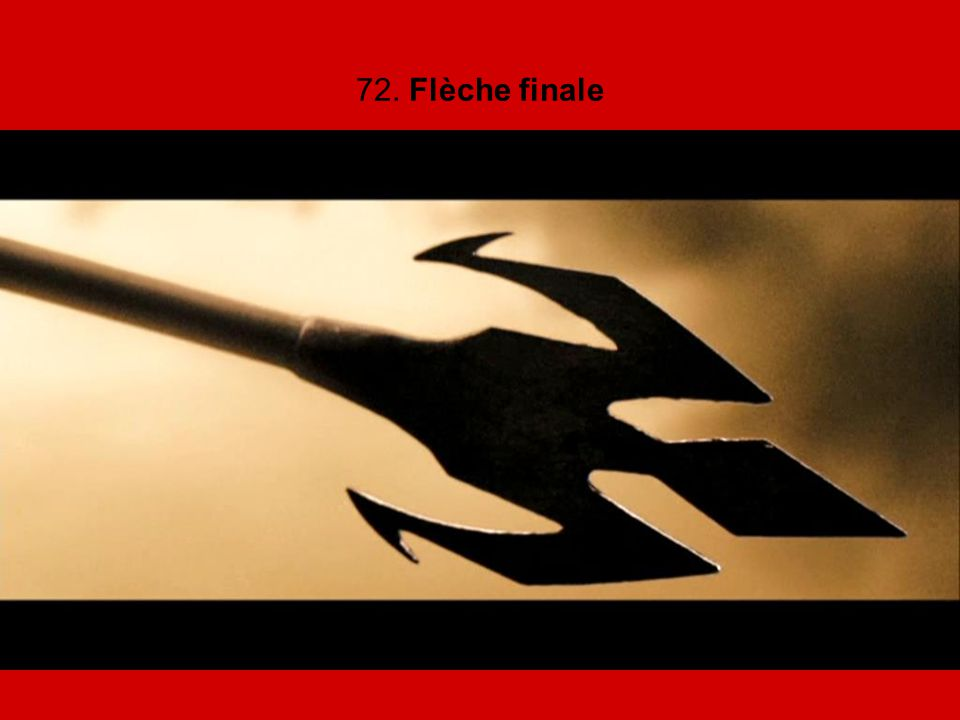 72. Flèche finale