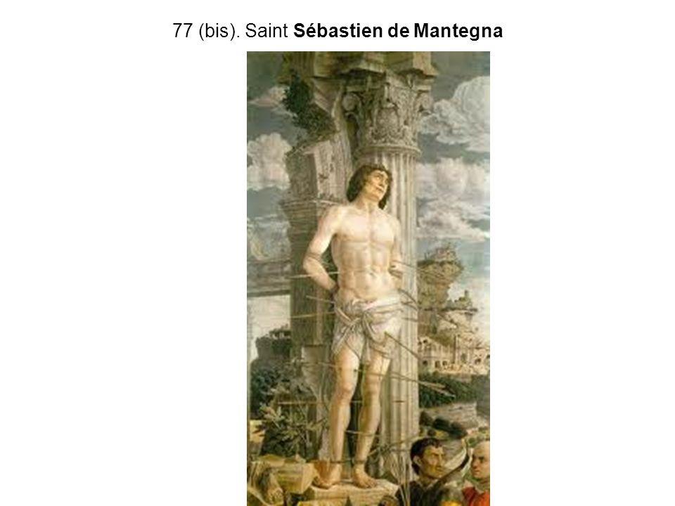 77 (bis). Saint Sébastien de Mantegna