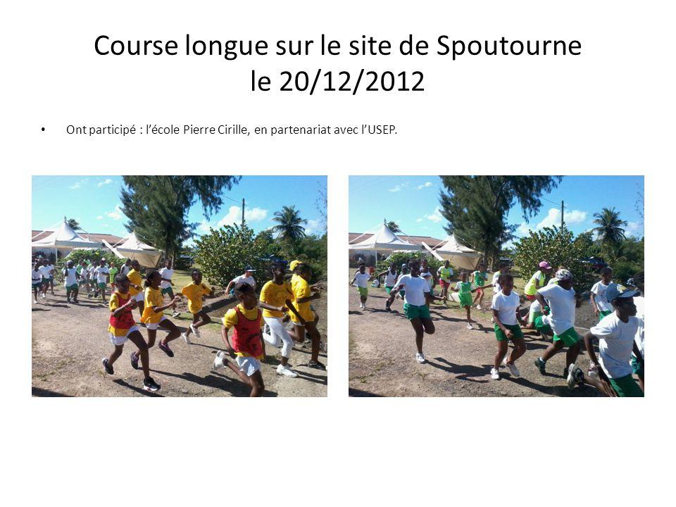 Course longue sur le site de Spoutourne le 20/12/2012 Ont participé : l'école Pierre Cirille, en partenariat avec l'USEP.