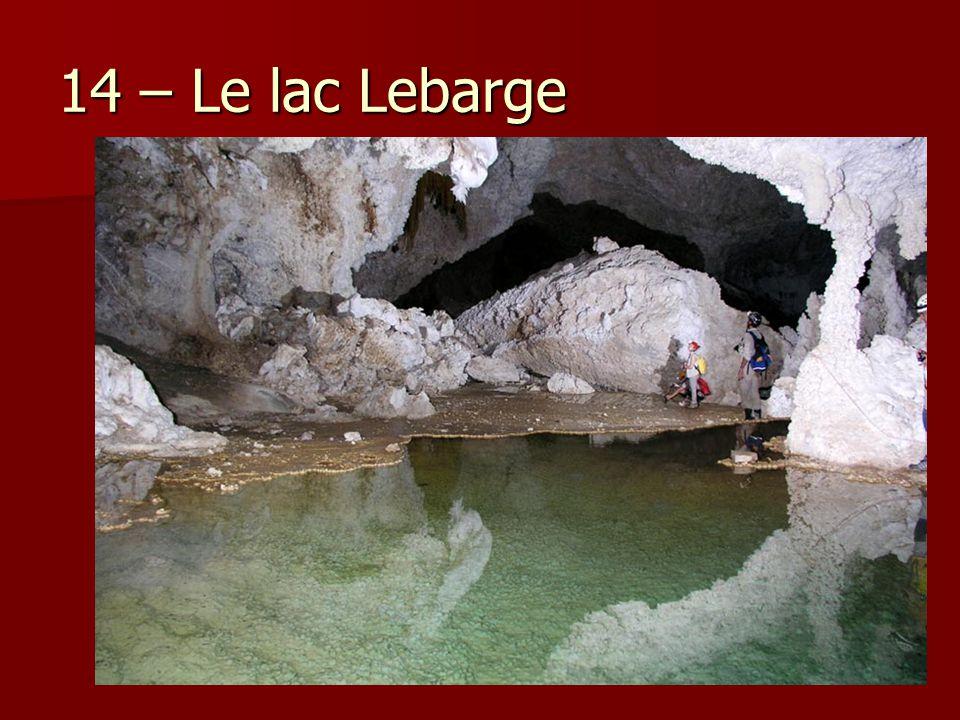 14 – Le lac Lebarge