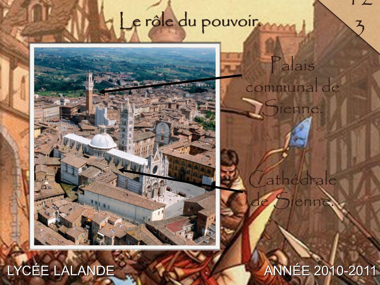 2 LYCÉE LALANDE ANNÉE 2010-2011 140 C / Un essor qui remodèle la ville. 2