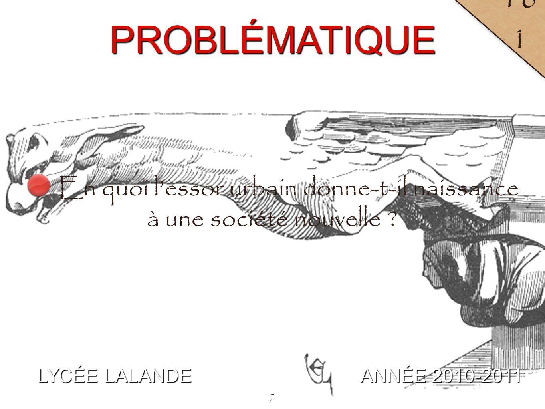 8 LYCÉE LALANDE ANNÉE 2010-2011 16 2 A / De la ville seigneuriale à la commune : la lutte pour le pouvoir citadin.