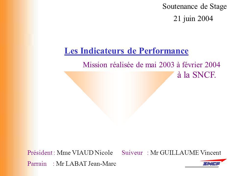 Le déploiement, 31 décembre 2003 : le projet est abandonnée par la direction de l'INFRA les indicateurs Financiers, RH et Normes de Production sont repris par la DCG 1 janvier 2004 : L'INFRA se voit confier la réalisation de nouveaux indicateurs production