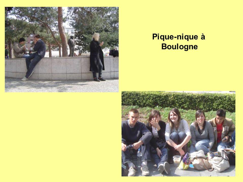 Pique-nique à Boulogne