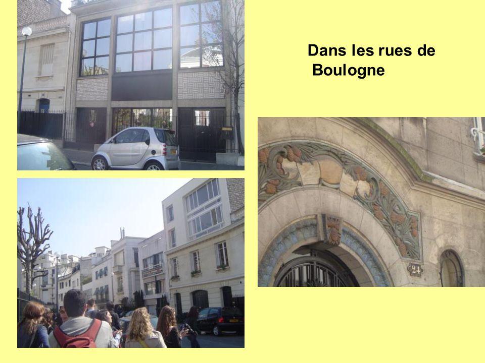 Dans les rues de Boulogne