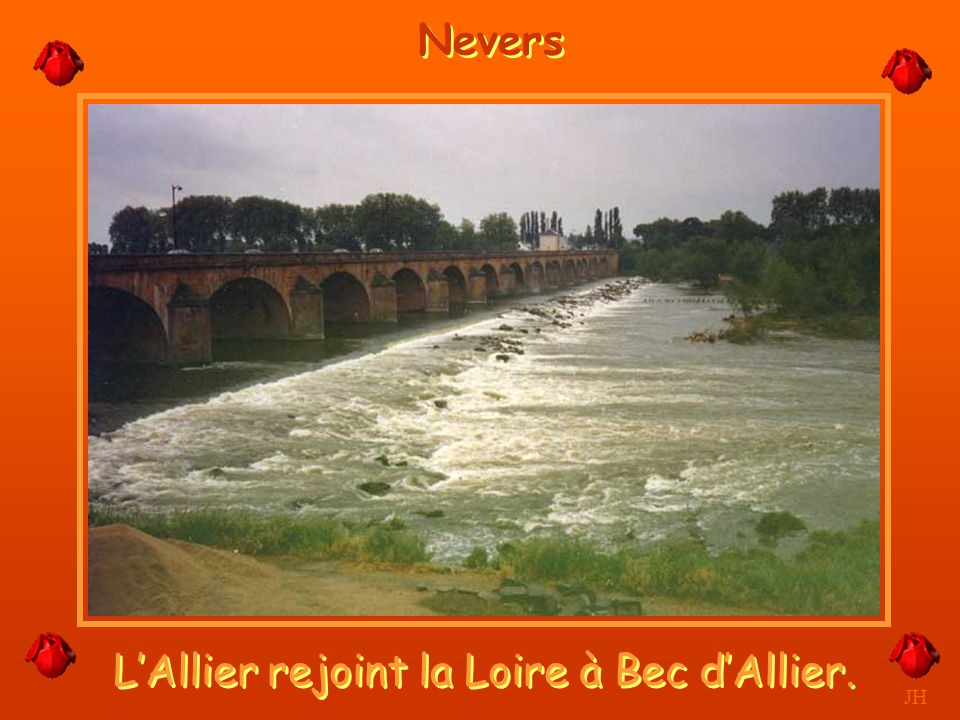 La Tour Goguin, la crue. JH Nevers