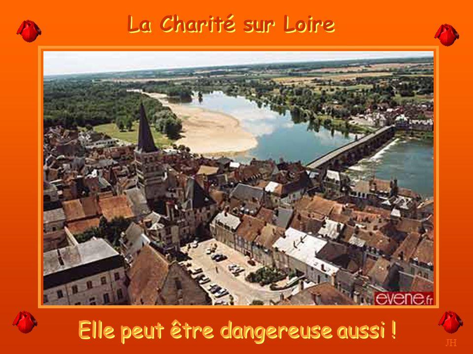 L'Allier rejoint la Loire à Bec d'Allier. JH Nevers