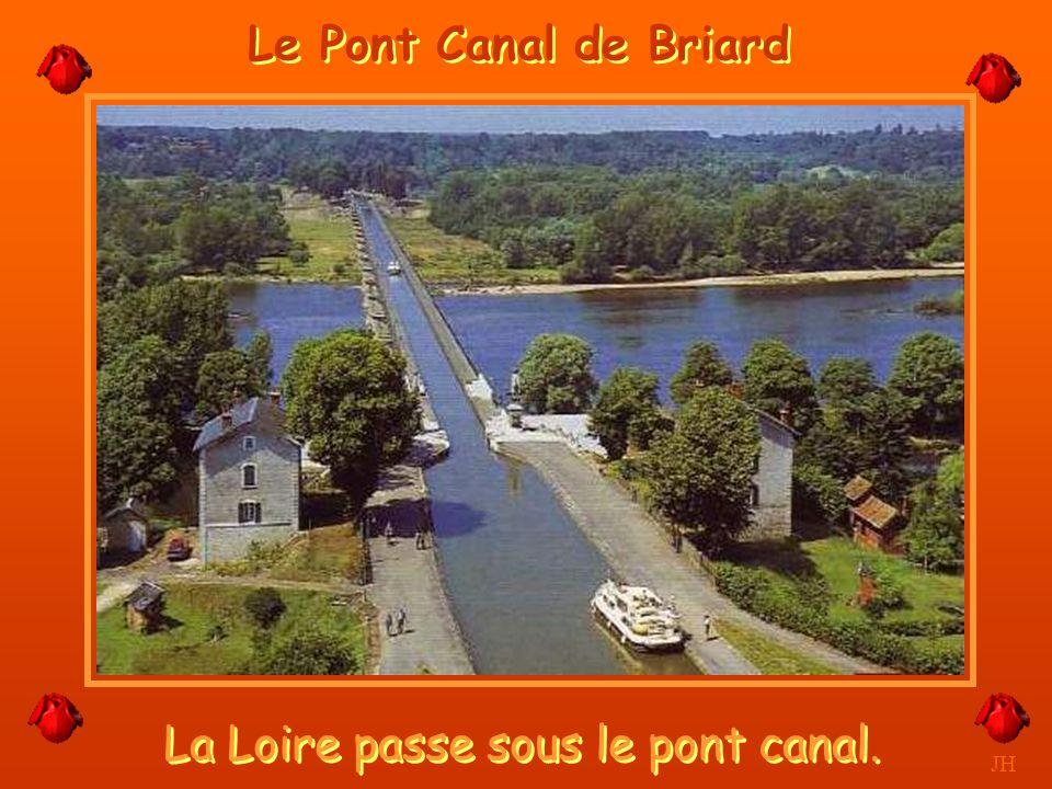 La seule écluse de la Loire. JH Belleville sur Loire