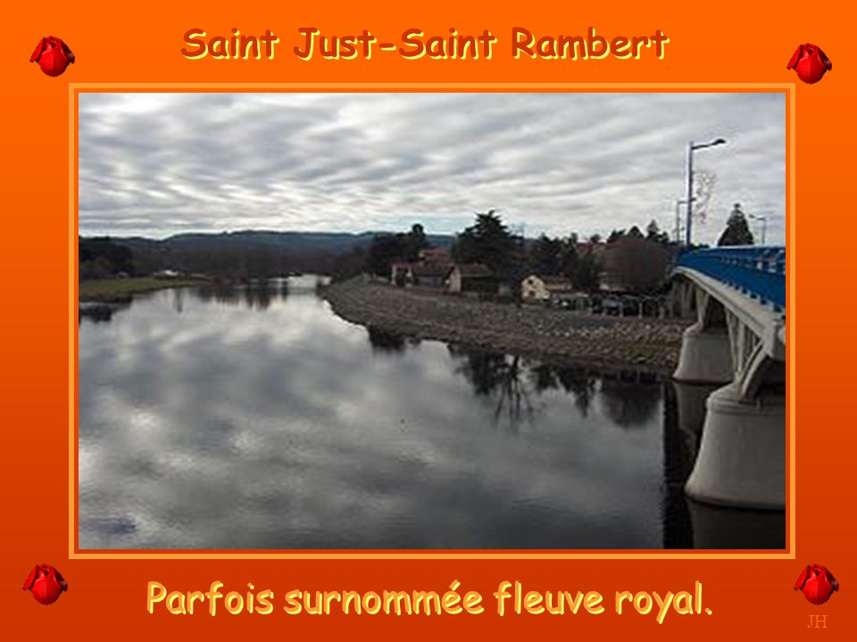 Joli fleuve de ma région. JH La Loire à Montrond les Bains