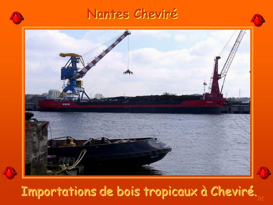 Elle est navigable jusqu'à Nantes JH La Loire