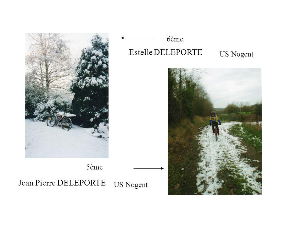 US Nogent Estelle DELEPORTE 6ème 5ème Jean Pierre DELEPORTE US Nogent