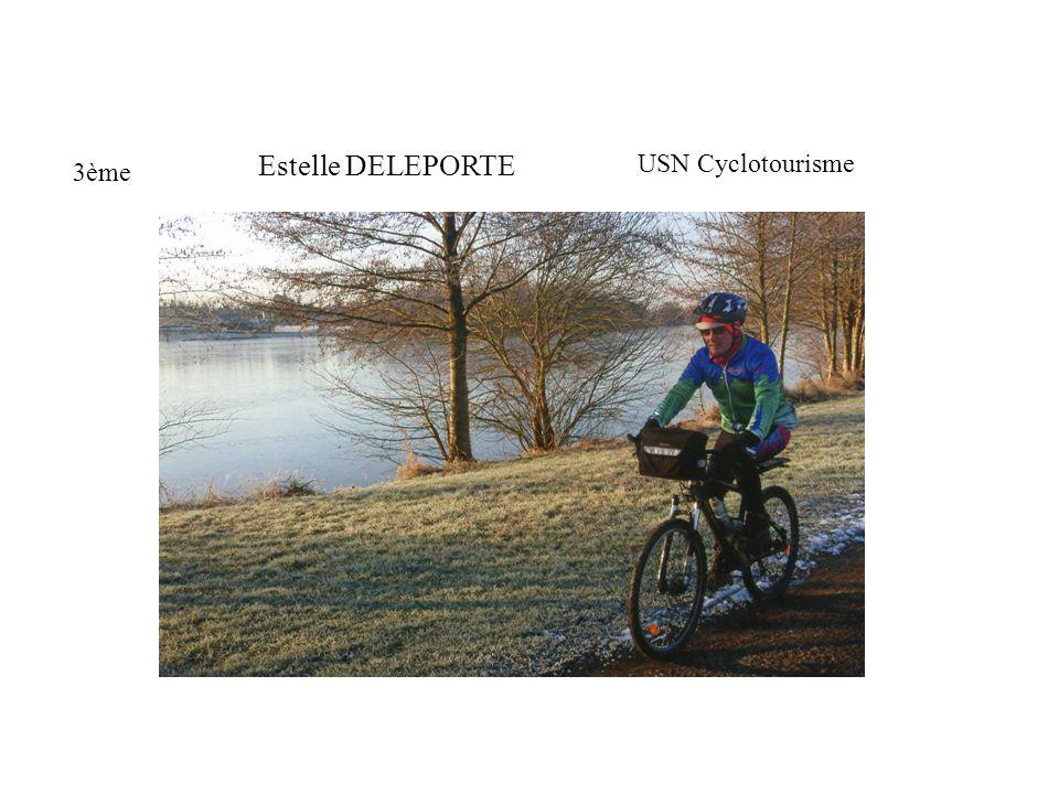 3ème Estelle DELEPORTE USN Cyclotourisme