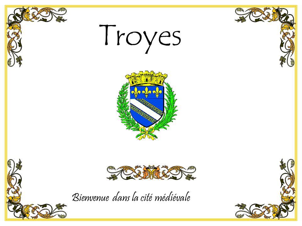 Bienvenue dans la cité médiévale Troyes