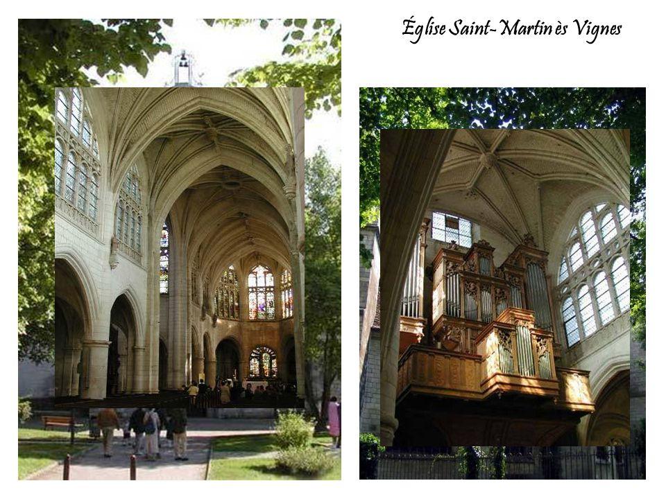 Église Saint-Martin ès Vignes